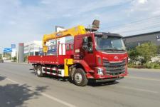东风柳汽10吨随车起重运输车价格