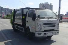 國六江鈴6方壓縮式垃圾車多少錢/6方壓縮式垃圾車廠家價格