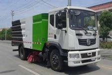 华通牌HCQ5120TSLEQNG6型扫路车