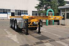 中集8.5米34.8吨3轴集装箱运输半挂车(ZJV9404TJZDY)