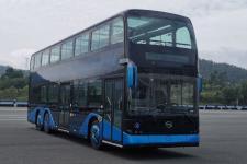 12.2米|27-75座比亚迪纯电动低地板双层城市客车(BYD6120BD1EV1)