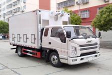 国六江铃顺达排半畜禽运输车价格多少钱一辆13329882498