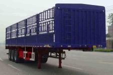 中集13米33吨3轴仓栅式运输半挂车(ZJV9400CLXHJA)