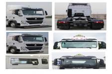豪沃牌ZZ4257N25CGE1W型危险品牵引车图片