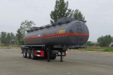 特运10.6米29.5吨3轴腐蚀性物品罐式运输半挂车(DTA9406GFW)