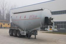 华鲁业兴8.9米32.5吨3轴下灰半挂车(HYX9403GXH)