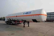 全新一代中集牌LNG低温液体运输车 自重轻 真空好 南通中集