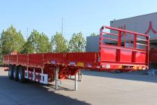 锣响12米33.4吨栏板半挂车