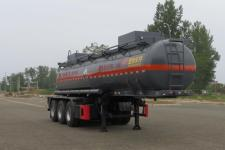 特运9.7米31.7吨3轴腐蚀性物品罐式运输半挂车(DTA9408GFW)