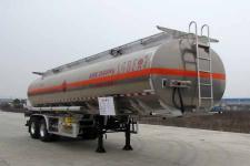 楚胜10.4米29.5吨铝合金运油半挂车