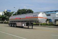 运力12米32.6吨3轴铝合金运油半挂车(LG9401GYYA)