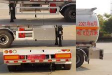 楚飞牌CLQ9404GYYBA型铝合金运油半挂车图片