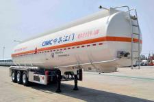 中集11.9米33.3吨3轴铝合金运油半挂车(ZJV9404GYYJM)