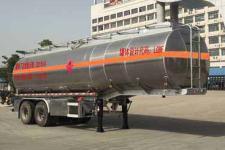 楚飞9.7米29.5吨2轴铝合金运油半挂车(CLQ9350GYYBA)