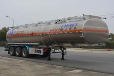 欧曼牌HFV9402GYYA型铝合金运油半挂车图片