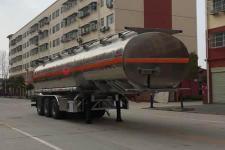 程力威11米32.9吨3铝合金运油半挂车