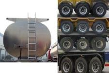 程力威牌CLW9407GYYLV型铝合金运油半挂车图片