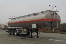 楚胜12米33.6吨3铝合金运油半挂车