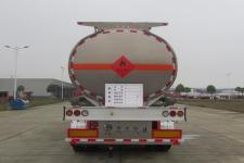 楚胜牌CSC9404GYYLC型铝合金运油半挂车图片