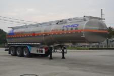 欧曼牌HFV9402GRYA型铝合金易燃液体罐式运输半挂车图片