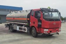 解放J6铝合金15-18吨运油车多少钱|油罐车|铝合金运油车价格