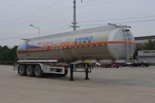 欧曼牌HFV9407GRYA型铝合金易燃液体罐式运输半挂车图片