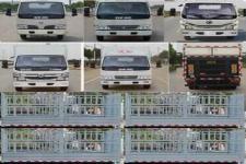 东风牌EQ2040CCY3BDDAC型越野仓栅式运输车图片
