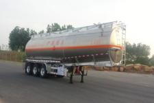 永強11.4米33.2噸3軸鋁合金易燃液體罐式運輸半掛車(YQ9404GRYCY2)