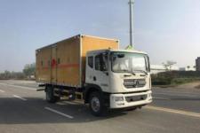 国五东风D9大多利卡易燃液体厢式运输车价格