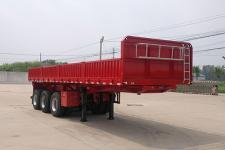 同强8米32.6吨3自卸半挂车