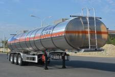 欧曼牌HFV9408GRYA型铝合金易燃液体罐式运输半挂车图片