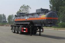 特运10.3米32.2吨3轴腐蚀性物品罐式运输半挂车(DTA9409GFWAA)