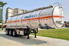 中集11.3米31.1吨3轴毒性和感染性物品罐式运输半挂车(ZJV9401GDGJM)