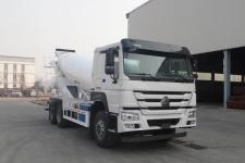 豪沃牌ZZ5257GJBV4347F1型混凝土搅拌运输车(ZZ5257GJBV4347F1混凝土搅拌运输车)(ZZ5257GJBV4347F1)