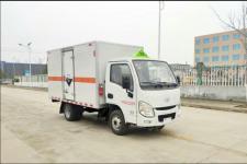 国六跃进EZW5033XFWS6型腐蚀性物品厢式运输车