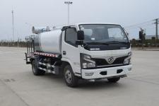 国六东风多利卡5吨多功能喷雾降尘车价格