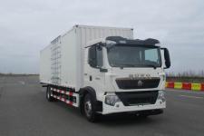 豪沃国五单桥厢式货车243-398马力5-10吨(ZZ5187XXYN561GF1L)