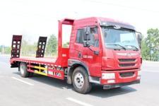 国六解放单桥平板运输车