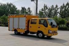 国六五十铃双排座工程车13329882498