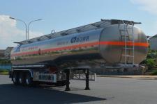 欧曼牌HFV9409GYYA型铝合金运油半挂车图片