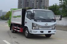 國六東風多利卡5方壓縮式垃圾車價格