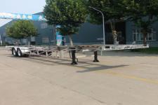明航14米31.5吨2轴铝合金集装箱运输半挂车(ZPS9357TJZ)