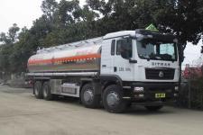 国六 重汽前四后八25方易燃液体罐式运输车