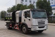 国六解放污泥自卸车