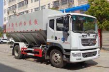 国六东风D9 12吨散装饲料运输车价格13329882498