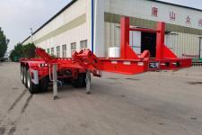 齐安7.5米35.4吨3轴运材半挂车(TZX9400TYC)