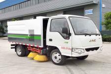国六江淮小型扫路车厂家/扫路车价格配置图片13635739799