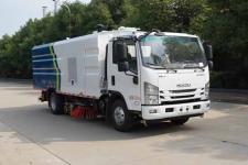 中洁牌XZL5080TXS6型洗扫车