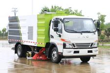 凯力风牌KLF5120TXSH6型洗扫车(KLF5120TXSH6洗扫车)(KLF5120TXSH6)
