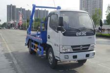 国六东风多利卡摆臂式垃圾车多少钱13329882498